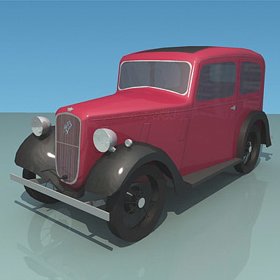 low-poly austin ruby max