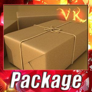 3d cardboard box resolution