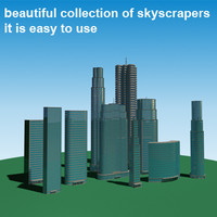 Building collection 1 - skyscrapers