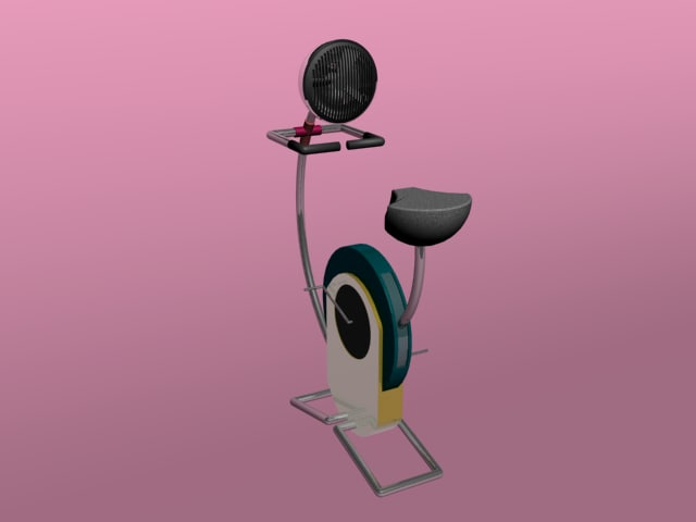 excecise mechine 3d model