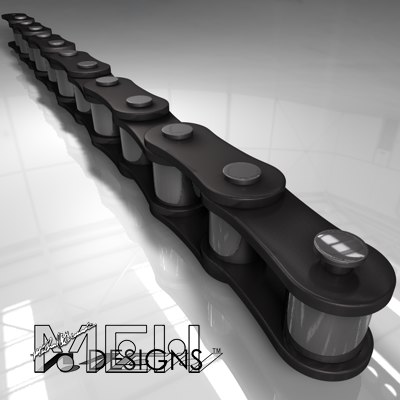 3d chain link model