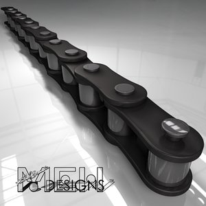 3d chain link model
