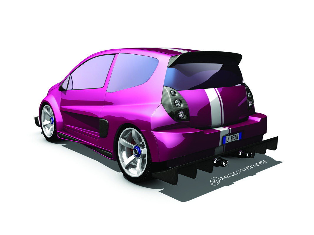 3d citroen c2 tuning model. Black Bedroom Furniture Sets. Home Design Ideas