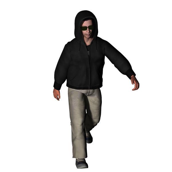 maya hood hoodie