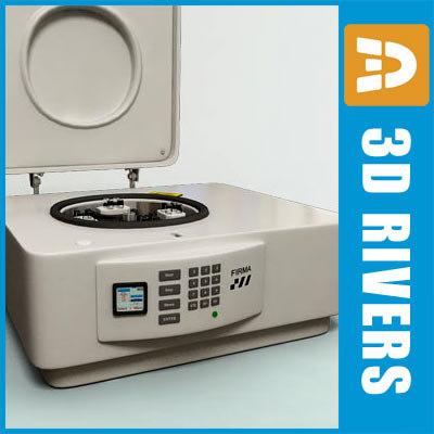 3d model of lab centrifuge