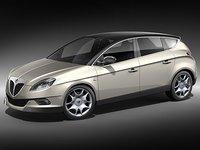 lancia delta car 3d model