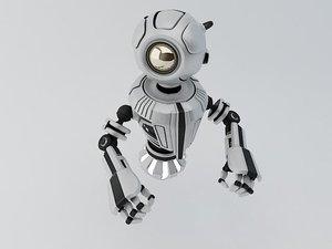 robot materials 3d max