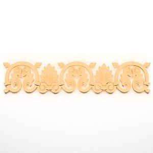 3d model ornamental element wall