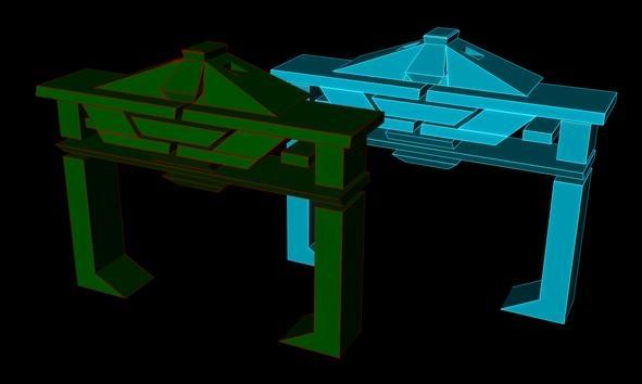 c4d tron recognizers futuristic