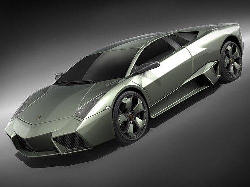 lamborghini reventon sport car 3d model