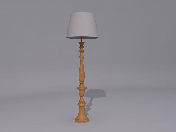 free lamp 3d model