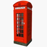 max london phone kiosk