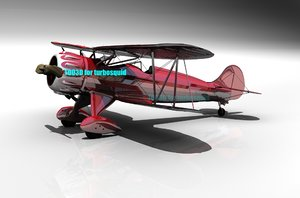 3d aircraft airplane model