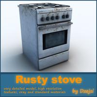 rusty stove max