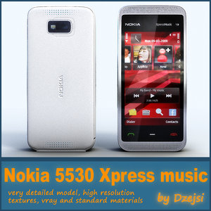 mobile phone nokia 5530 3d max