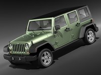 Jeep Wrangler Unlimited midpoly