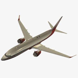 boeing 737-800 3d 3ds
