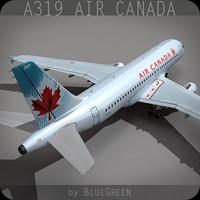 Airbus A319 Air Canada