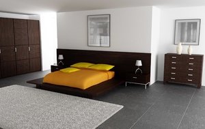 3d model bedroom interior 02b