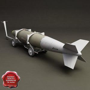 bomb cart v5 3d 3ds