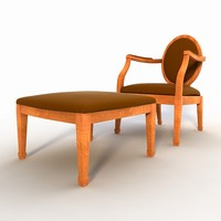 classic chair 3ds
