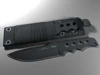 combat knife max