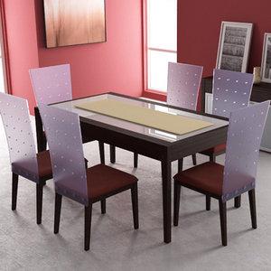 3d dining room interior 02c