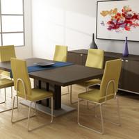 Dining room interior 01A