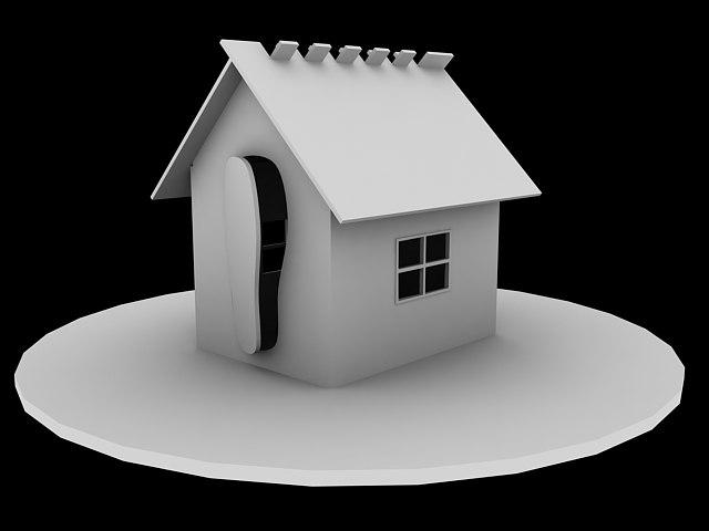 3d model child house