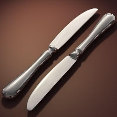 x knife silverware