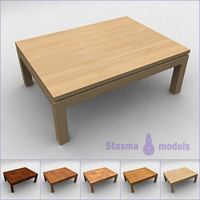 3d 3ds tea table