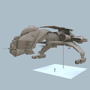 free naamian bird 3d model