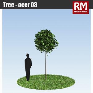 tree - 3d model
