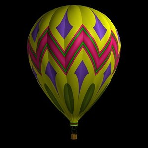 3d hot air bl model