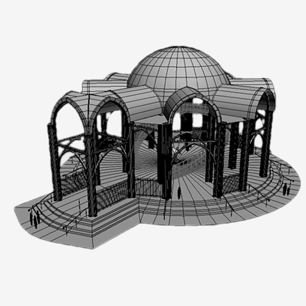3d model catedral cathedral