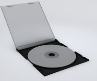 3d model cd jewel case