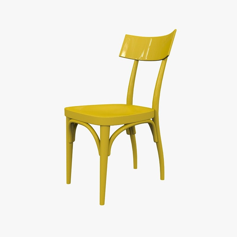 3ds max chair thonet hermann