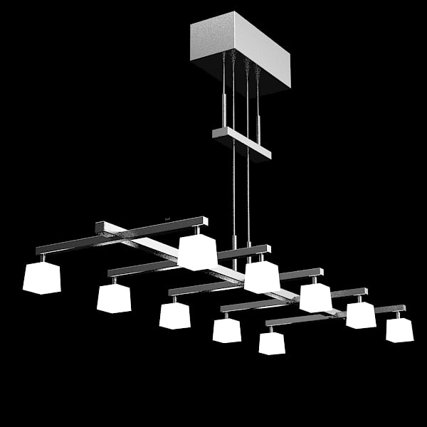 contemporary chanderier celing 3d model