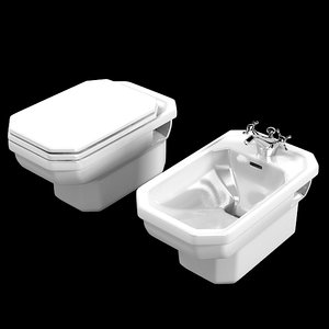 duravit 1930 toilet 3ds