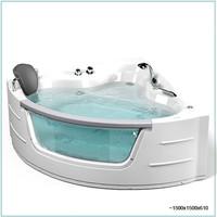 eurostyle esa 514 hydromassage bath tub corner jacuzzi