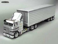 3d freightliner truck
