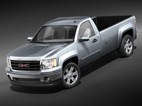 3ds max gmc sierra pickup