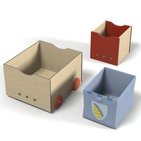 haba toy storage box  container package case