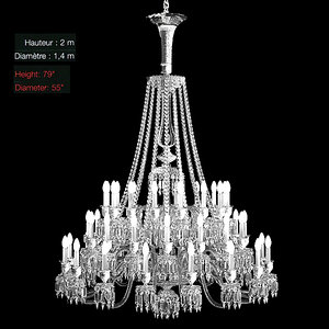helios baccarat classic 3d max