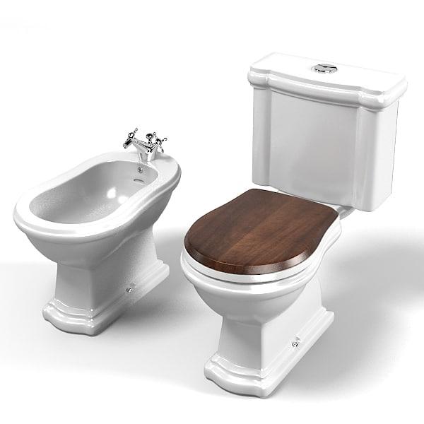 kerasan toilet wc 3d 3ds