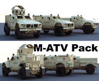 3d pack m-atv