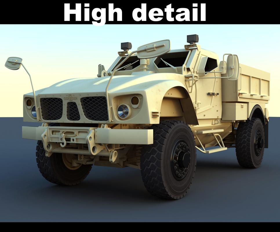 3d m-atv utility vehicle model