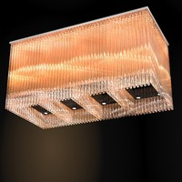 modern contemporary glass crystal ceiling chandelier lamp