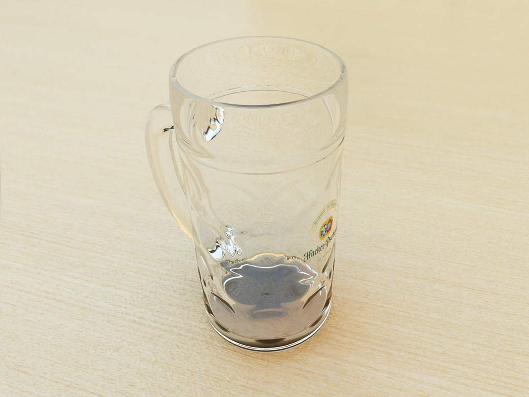 3d max beer glass