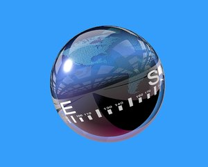 sphere compass 3d model